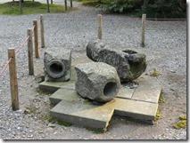 江戸時代、金沢城から引いた導水管